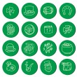 St. Patrick's Day Vector Icons — Stock Vector