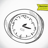 Clock timer alarm , vector illustration — Stockvektor