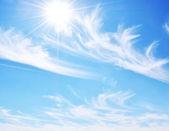 Sun in the Sky — Stock Photo