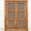 Vintage wooden window — Stock Photo #37179335