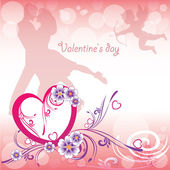 Background Valentine's Day — Stock Vector