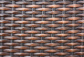 Texture of rattan wall (Native thai style) — Photo