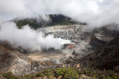 The caldera of Poas volcano in Costa Rica — Stock Photo