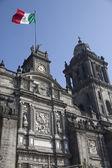 Catedral da cidade do México — Fotografia Stock