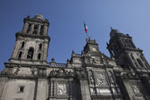 Cathedral of Mexico City — Stock Photo