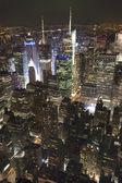 Vista de Manhattan hacia el distrito financiero — Stock Photo