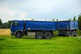 Dumper truck. — Stock Photo