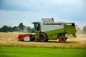 Combine harvester. — Stock Photo