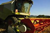 Combine harvester. — Foto de Stock
