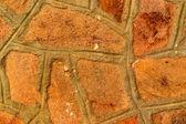Passerelle, pavée de pierres — Photo
