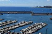Sea port — Stock Photo