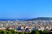 Barcelona, top view — Stock Photo