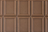 Bar of chocolate background — Stock Photo