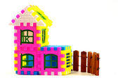 Model of a country house — Stock Photo