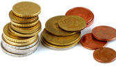 Dinero metálico — Foto de Stock