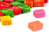 Fruit toffee — Stock Photo