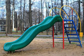 Children's slide in the park — Stockfoto