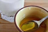 Folk remedies for of influenza — Stock Photo
