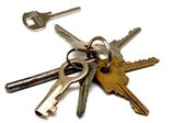 A bunch of old rusty keys — Stock Photo
