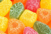 Candied fruit jelly background — ストック写真