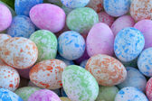 Easter eggs background — Stockfoto