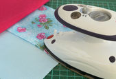 Special iron for patchwork — Photo