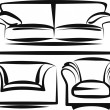 Stock Vector: Furniture