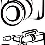 Set of cameras — Stock Photo #32288767