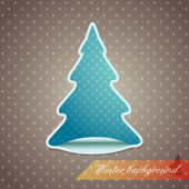 Sticker sapin — Photo