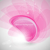 Abstract background with pink bubble — Stock Photo