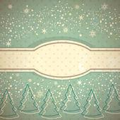 Vintage winter background — Стоковое фото