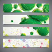 Set of colorful banners — Stock Vector