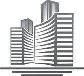 Real estate symbol — Stock Vector