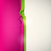 Abstract background with multicolored ribbons — Stock Vector