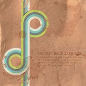 Grunge retro achtergrond — Vector de stock