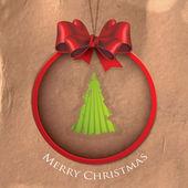Abstract christmas background — Vetor de Stock