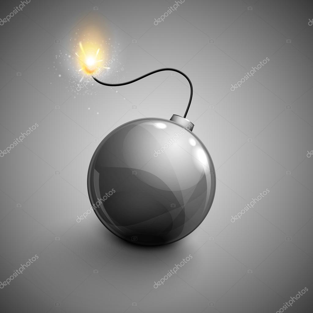 Bomb Icon Vector Vector Bomb Icon — Vector by