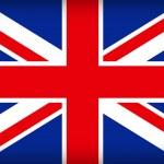 bandiera britannica Unione jack — Vettoriale Stock