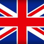 Bandeira britânica da union jack — Vetorial Stock