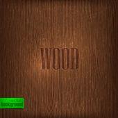 Wood texture. — Stock Vector