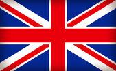 British union jack flag — Stock Vector