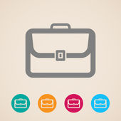 Briefcase icon — Stock Vector