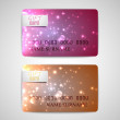 Shiny gift cards — Stock Vector