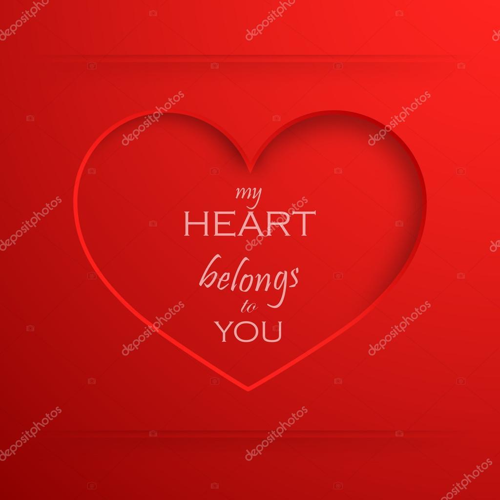 картинка мое сердце принадлежит тебе холодную