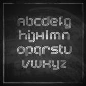 Artistic font — Vector de stock