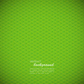 Abstract green geometric background — Stock Vector