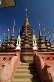 Pan toa templo, chiang mai, norte de Tailandia — Foto de Stock