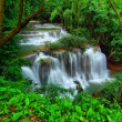 Huay mae Ka Min waterfall in kanchanaburi, Thailand — Stock Photo