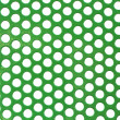 Abstract green color poka dot background — Photo