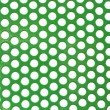 Abstract green color poka dot background — Foto Stock